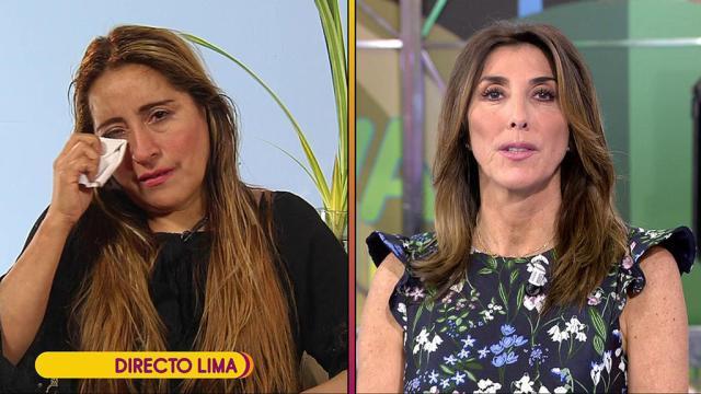 Críticas a Sálvame tras reírse en directo de la madre de Miriam Saavedra