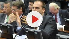 Filho de Bolsonaro ataca Fernando Haddad