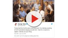 Bizarre Trump painting from 60 Minutes goes viral