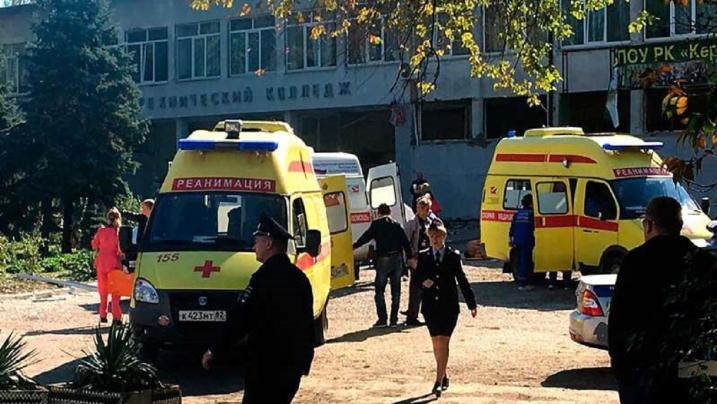 Estudante abre fogo, detona bomba e mata ao menos 18 em faculdade na Crimeia