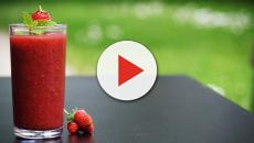 Strawberry Bellini sorbet recipe is simple with different ways to serve