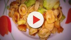 Ricetta delle orecchiette di grano arso con cavolfiore e mollica fritta piccante