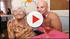 Casa di riposo, gli spogliarellisti servono la cena alle anziane