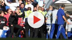 Murinho se envolve em confusão no empate entre Chelsea e United