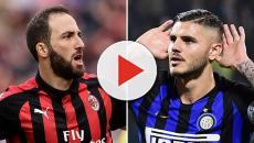 Serie A, Inter-Milan: si accende la sfida tra bomber, Icardi Vs Higuain