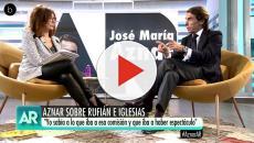Ana Rosa indigna a las redes sociales por su entrevista a Aznar