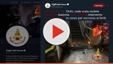 Roma, cede scala mobile della metro: oltre 20 feriti di cui 11 in codice rosso
