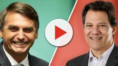 Jair Bolsonaro tem 57% dos votos válidos contra 43% de Fernando Haddad