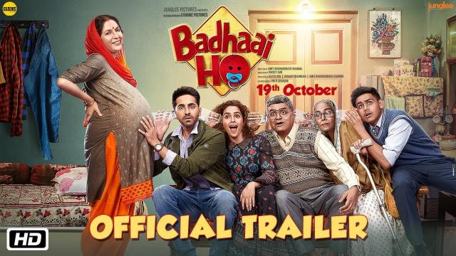 Hindi Film 'Badhai Ho' Review and Box-Office Collections