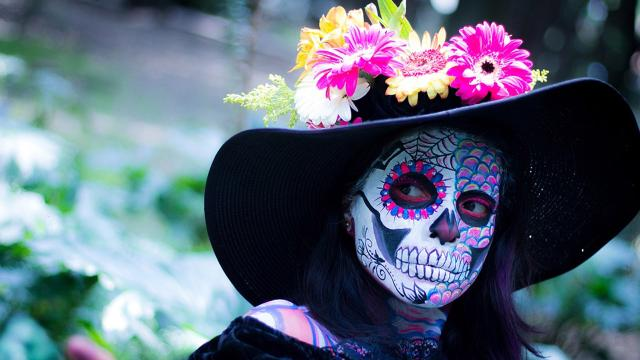 Mexico does Halloween better on the Day of the Dead
