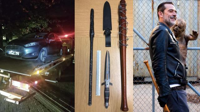 The Walking Dead: Baseball bat like Negan's Lucille found by Essex police