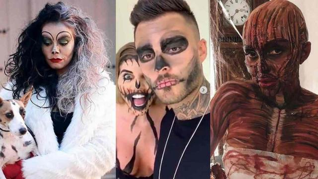 Halloween 20118 : les meilleurs déguisements des candidats de téléréalité