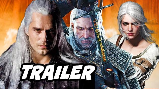 The Witcher Netflix trailer shows Henry Cavill as Geralt of Rivia