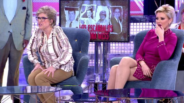 Lydia Lozano hace llorar a María Jesús Ruiz y a su madre en Sábado Deluxe