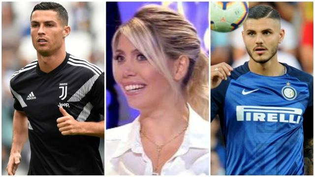 Wanda Nara, pareja de Mauro Icardi, critica a Cristiano Ronaldo