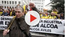 Avilés a la calle en apoyo a los trabajadores de Alcoa