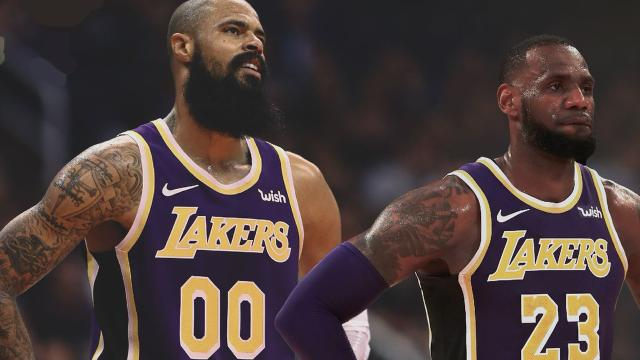 LeBron James talks Tyson Chandler and his role on the team