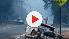 Wildfire in Northern California: thousands evacuated