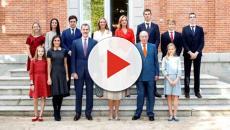 La Casa Real difunde una fotografía donde el rey Don Juan Carlos sale tullido