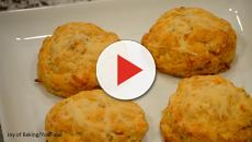 Simple classic cheese scones recipe