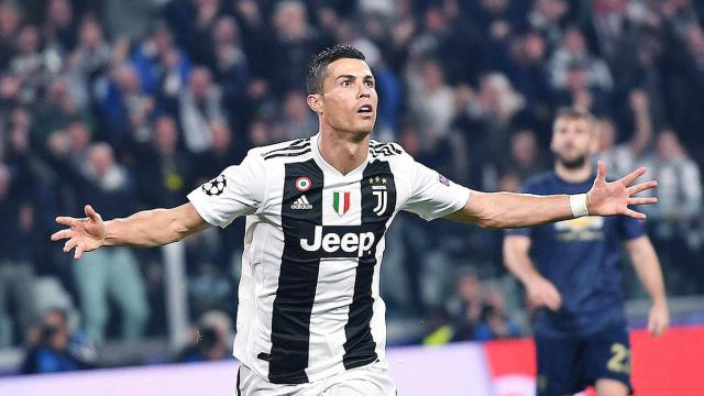 Les 8 buts de Ronaldo avec la Juventus Turin