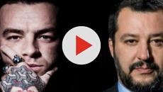 Salmo attacca gli elettori leghisti, Salvini risponde: interviene anche Ghali