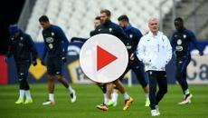 Les joueurs se chamaillent à l'entraînement pour un but de Mbappé