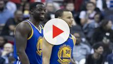 Draymond Green, Kevin Durant have heated argument in Warriors' loss