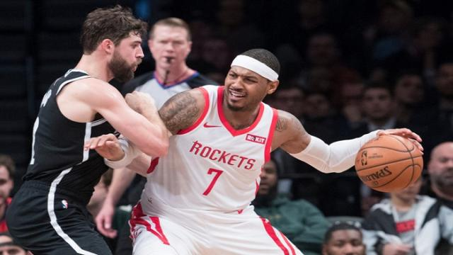 Carmelo Anthony unlikely to return to Rockets
