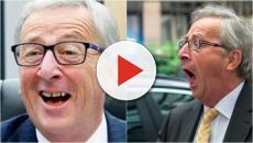 Gaffe per Jean-Claude Juncker, in conferenza stampa con due scarpe diverse