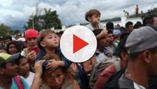 Les migrants honduriens pourrait rompre le barrage américain