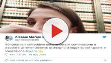 Alessia Morani insultata dopo un post su Twitter: a lavoro con il raffreddore