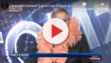 M5S definisce 'prostitute' i giornalisti: Paolo Liguori risponde con il boa