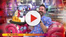 Sálvame: Rocío Carrasco felicita en directo a David Valldeperas