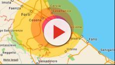 Rimini: alle ore 13,48 forte scossa si terremoto di magnitudo 4.2