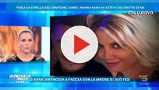 Ivana Icardi a Domenica LIVE: