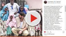 Luca Onestini e Ivana fanno beneficenza in Africa: il loro gesto commuove il web