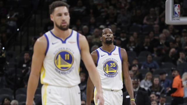 NBA : Golden State chute à San Antonio