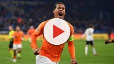 Virgil Van Dijk golea a Alemania y elimina a Francia de la Liga de Naciones