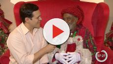 Papai Noel negro faz sucesso na internet