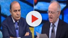 Vespa-Davigo, scontro in TV: 'Se siamo tutti mascalzoni, chiudiamo l'Italia'