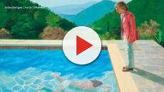 Hockney painting sells on Christie's auction for over 90m