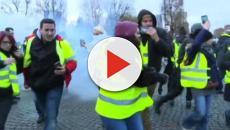 Gillet gialli: scritte e slogan contro Autostrade
