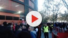 VIDEO: Malestar entre los aficionados del Rayo Vallecano por trato de la Policía