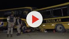 Na Bahia, acidente de ônibus deixa cinco mortos