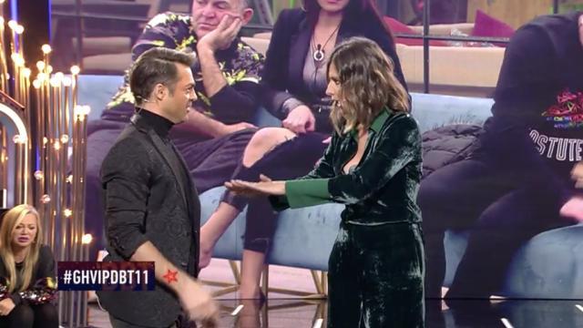 Sandra Barneda expulsa a Hugo Castejón del plató de GH VIP 6