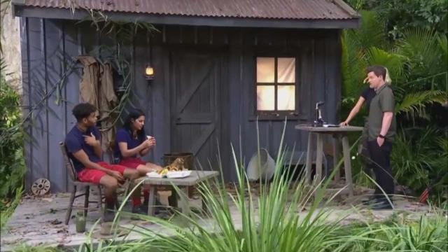 I'm a Celebrity ... Get Me Out of Here spoilers: Malique & Sair's eating task