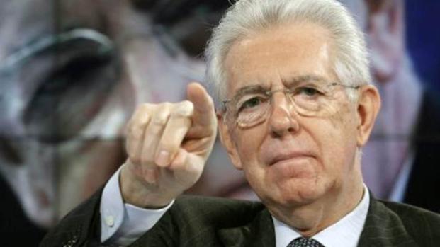 Mario Monti: 'Il governo verso un momento Tsipras'