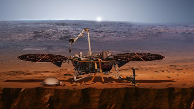 NASA's Mars InSight lander is safely on the Red Planet