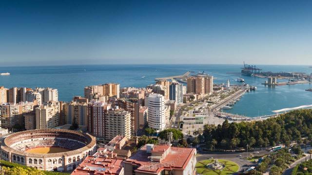 5 popular restaurants in Málaga, Costa del Sol, Spain